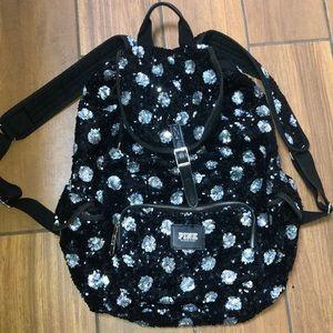VS PINK sequin bookbag